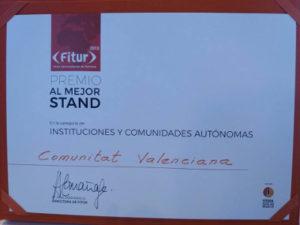 certificado mejor stand