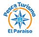 Nuevo logo móvil: rosa de los vientos con pesca-turismo arriba y el paraiso abajo - èscaturismo.es