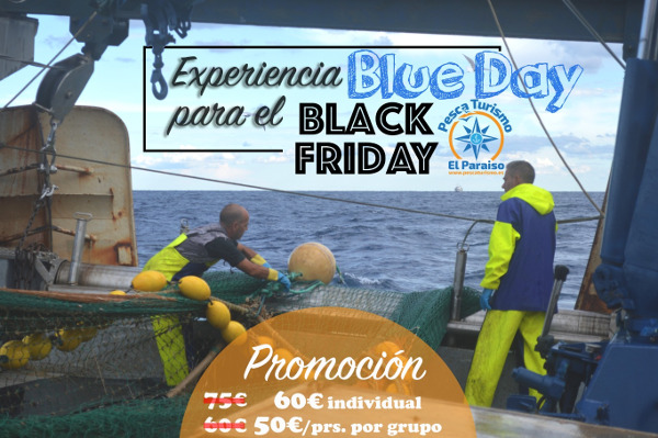 Oferta Black Friday pescaturismo.es